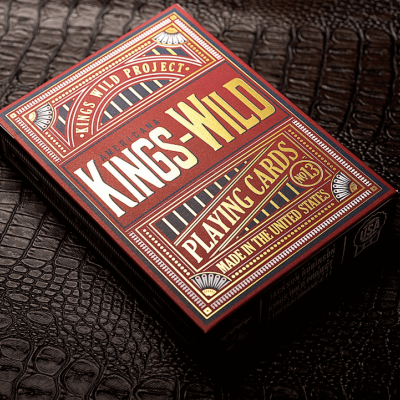 Kings Wild Americana Playing Cards: Jumbo Collector's Set