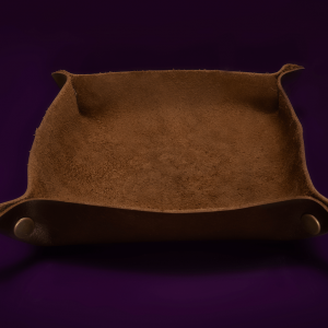 Handmade Leather Dice Tray