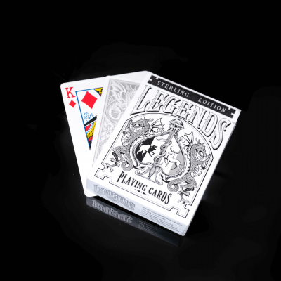Legends Playing Cards: Sterling Edition