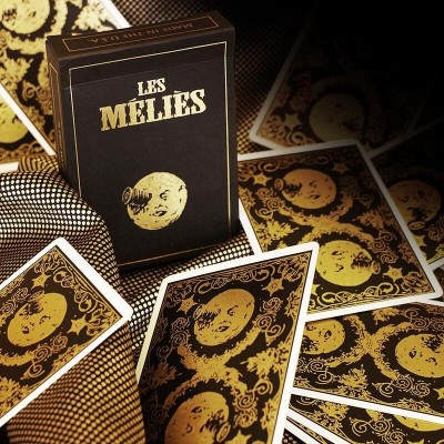 Les Méliés Gold Playing Cards