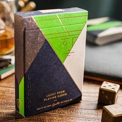 Lucky Draw Playing Cards: Green Edition