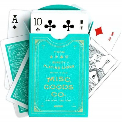 Misc Goods Co Playing Cards: Green