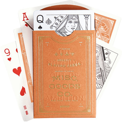 Misc Goods Co: Sandstone Playing Cards