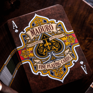 Gold Maduro Playing Cards: Second Edition