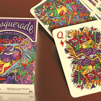 Masquerade Playing Cards