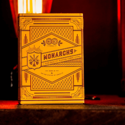 Monarchs Playing Cards: Mandarin Edition