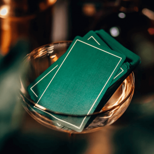 NOC Out Playing Cards: Green Gold