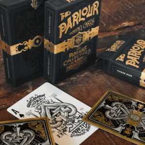 The Parlour Playing Cards: Black Foil