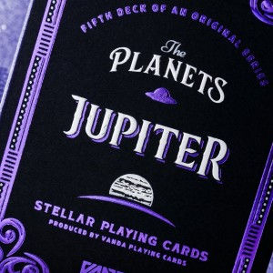 Planets Playing Cards: Jupiter