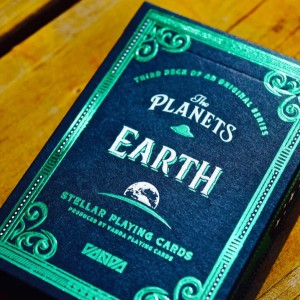 Planets Playing Cards: Earth