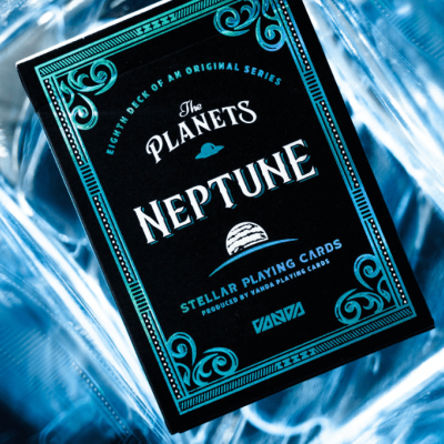 Planets Playing Cards: Neptune