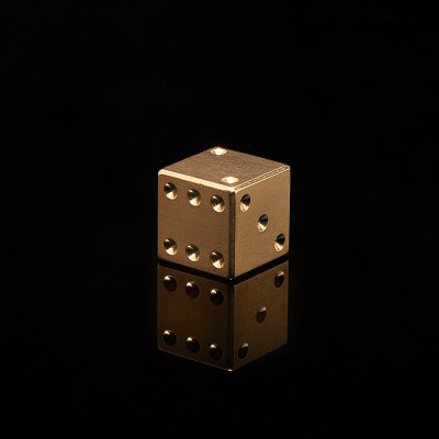 Precision Brass Dice