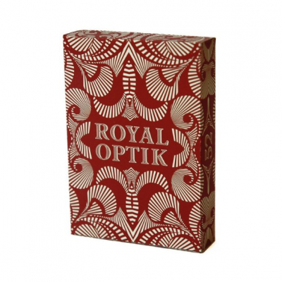 Royal Optik Playing Cards: Red Edition