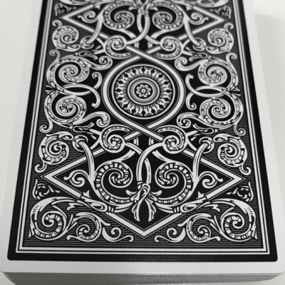 Serpentine Playing Cards: Black Edition