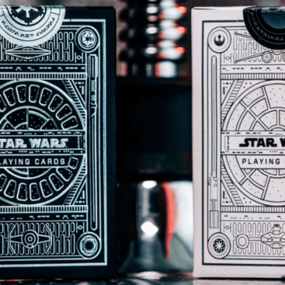 Star Wars Playing Cards: Silver Special Edition