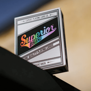 Superior Brand Playing Cards: Rainbow Edition