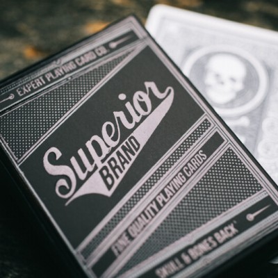 Superior Brand Playing Cards: Skull & Bones