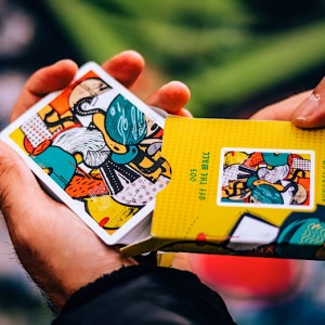 Svngali Playing Cards: 03 Off The Wall