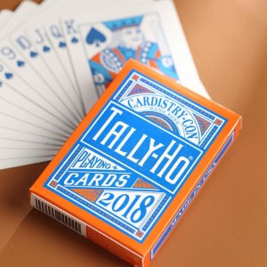 Tally Ho Playing Cards: Cardistry Con 2018 Edition
