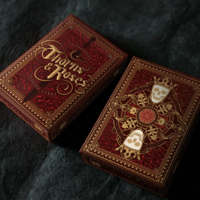 Thorns and Roses Playing Cards