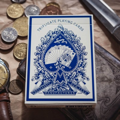1876 Triplicate Dragon Playing Cards