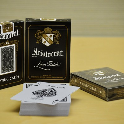 Aristocrat Playing Cards: Limited Edition Black