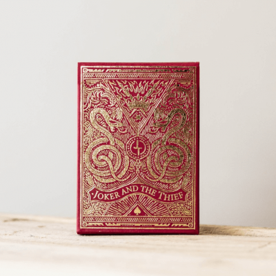 Joker and the Thief: Blood Red Edition Playing Cards