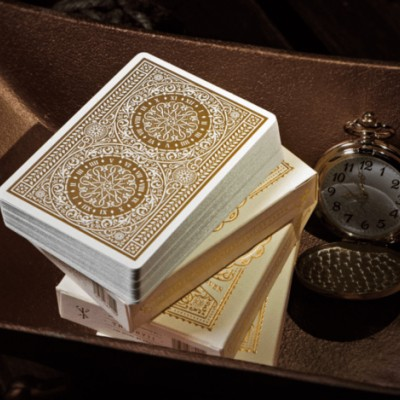 TYCOON Playing Cards: Ivory Edition
