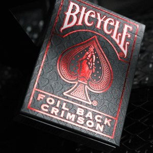 v2 Bicycle Rider Back: Metalluxe Playing Cards