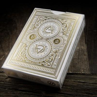 White Artisans Playing Cards
