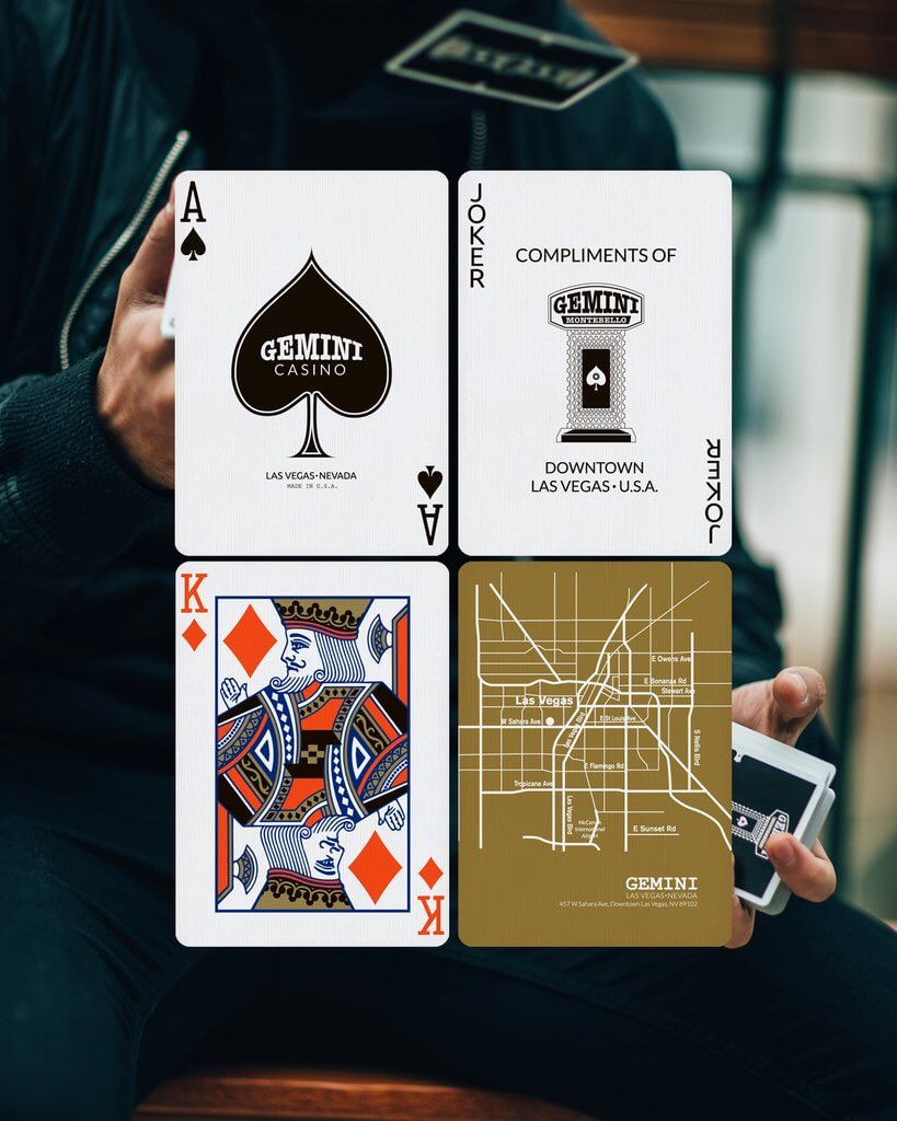 Gemini casino playing cards