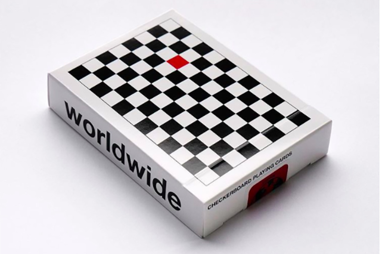 Checkerboard Playing Cards Anyone Worldwide Jp Games Ltd