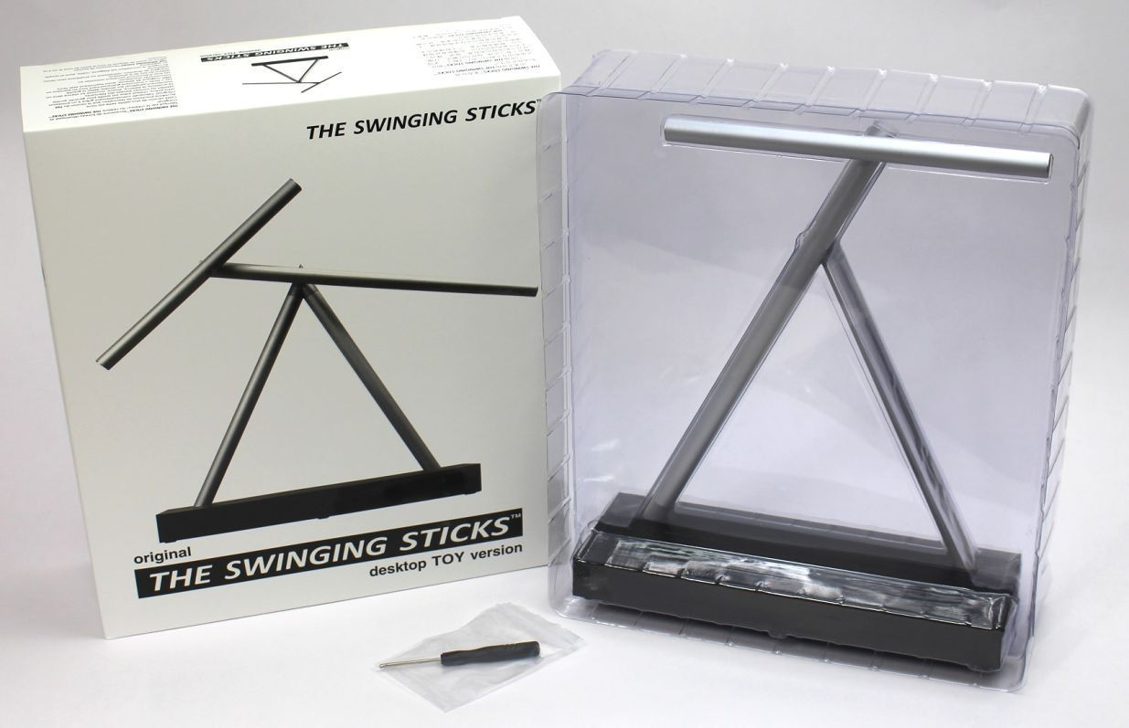 The Swinging Sticks Kinetic Sculpture Motion Toy Jp