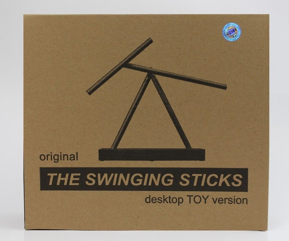 The Swinging Sticks Kinetic Sculpture